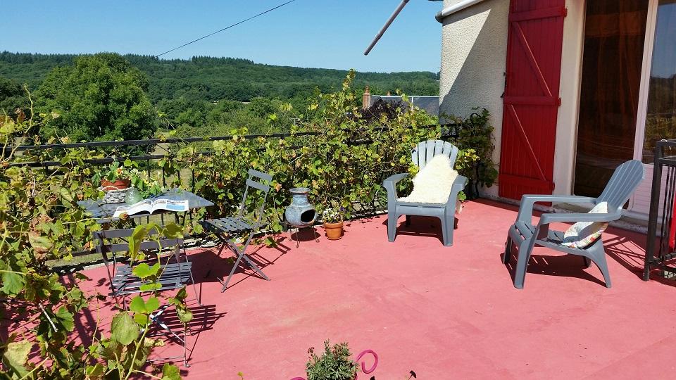 Chambre d'Hôtes / Bed & Breakfast La Terrasse